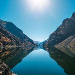 Jetboating in Hells Canyon. Photo Credit: Idaho Tourism.