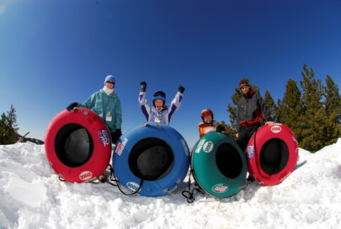 Bring the family to the Pepsi Goldrush Tubing Hill.  Photo credit: Bogus Basin Mountain Recreation Area
