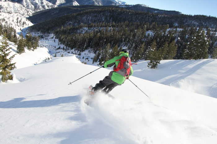 Ski the spectacular backcountry of Sun Valley with Sun Valley HeliSki