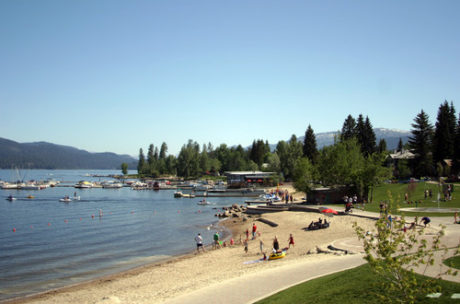 McCall's Payette Lake. Credit Austin Rogerson