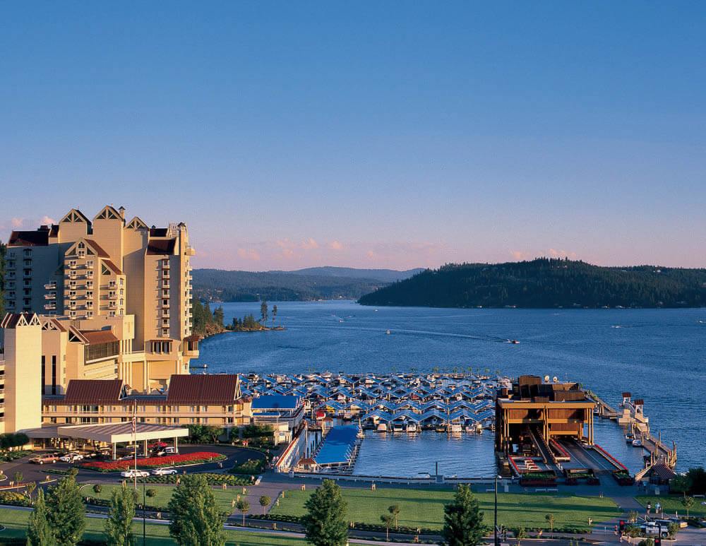 The Coeur d'Alene Resort in Coeur d'Alene, ID