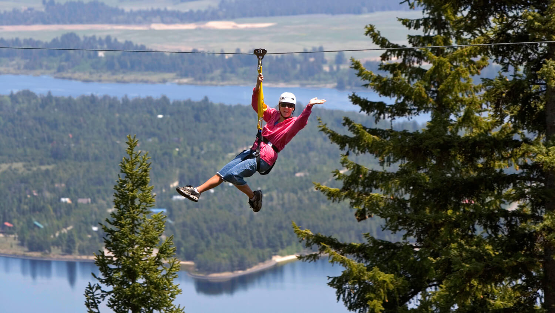 Zip Line Harness >> Zip Lining in Idaho | Visit Idaho