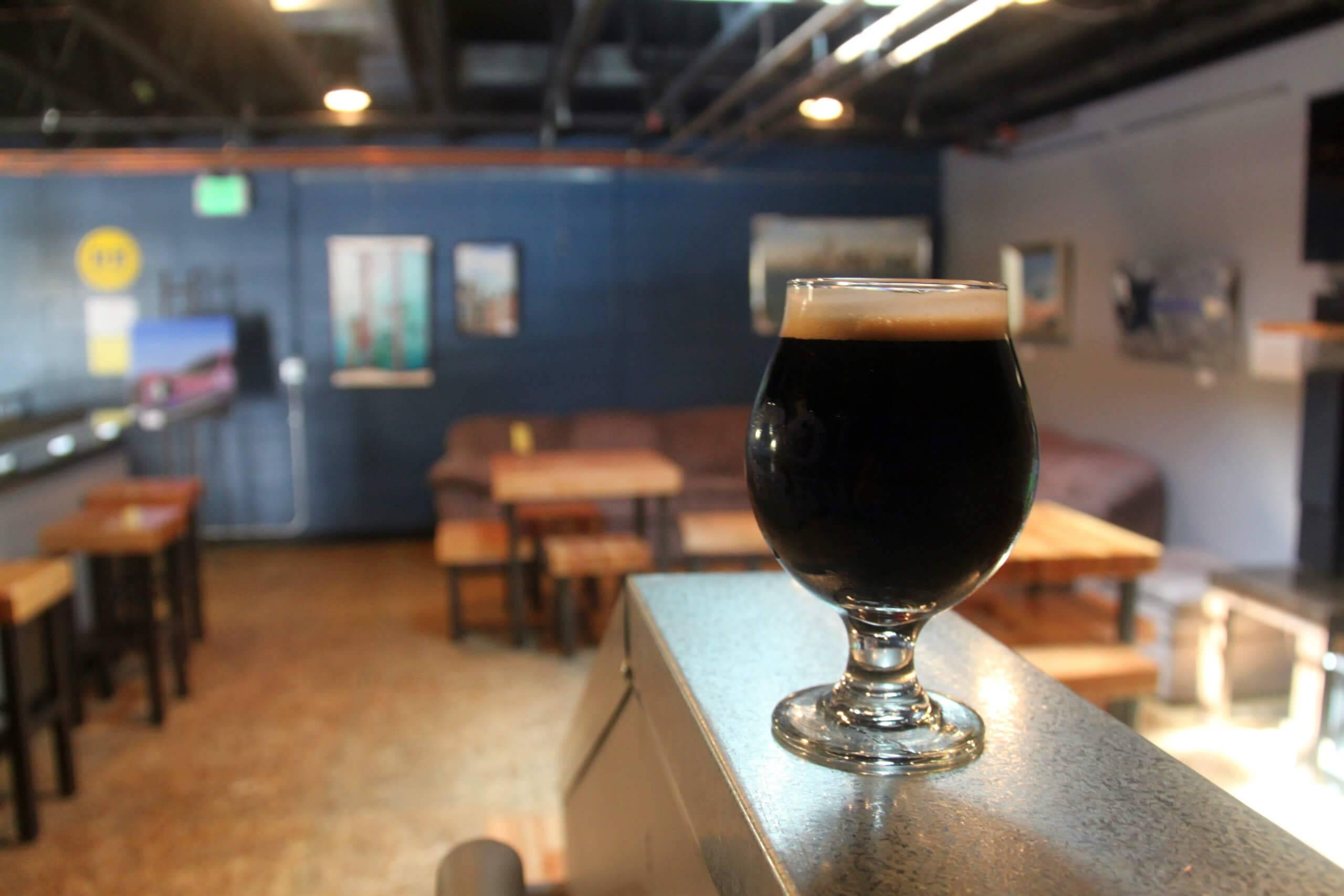 Boise Brewing's tasting room.