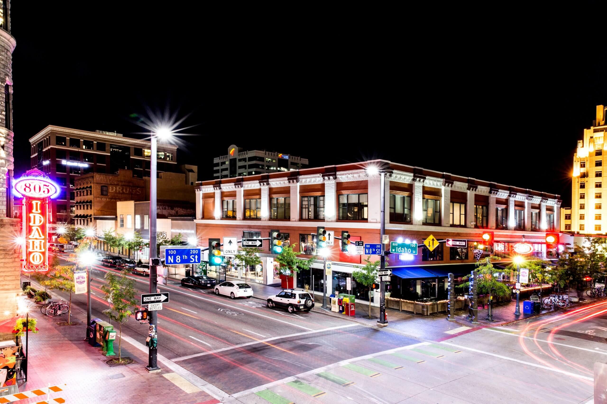 8th Street, Boise. Photo Credit: Idaho Tourism.