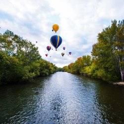 Hot Air Balloons, Boise. Photo Credit: Idaho Tourism.