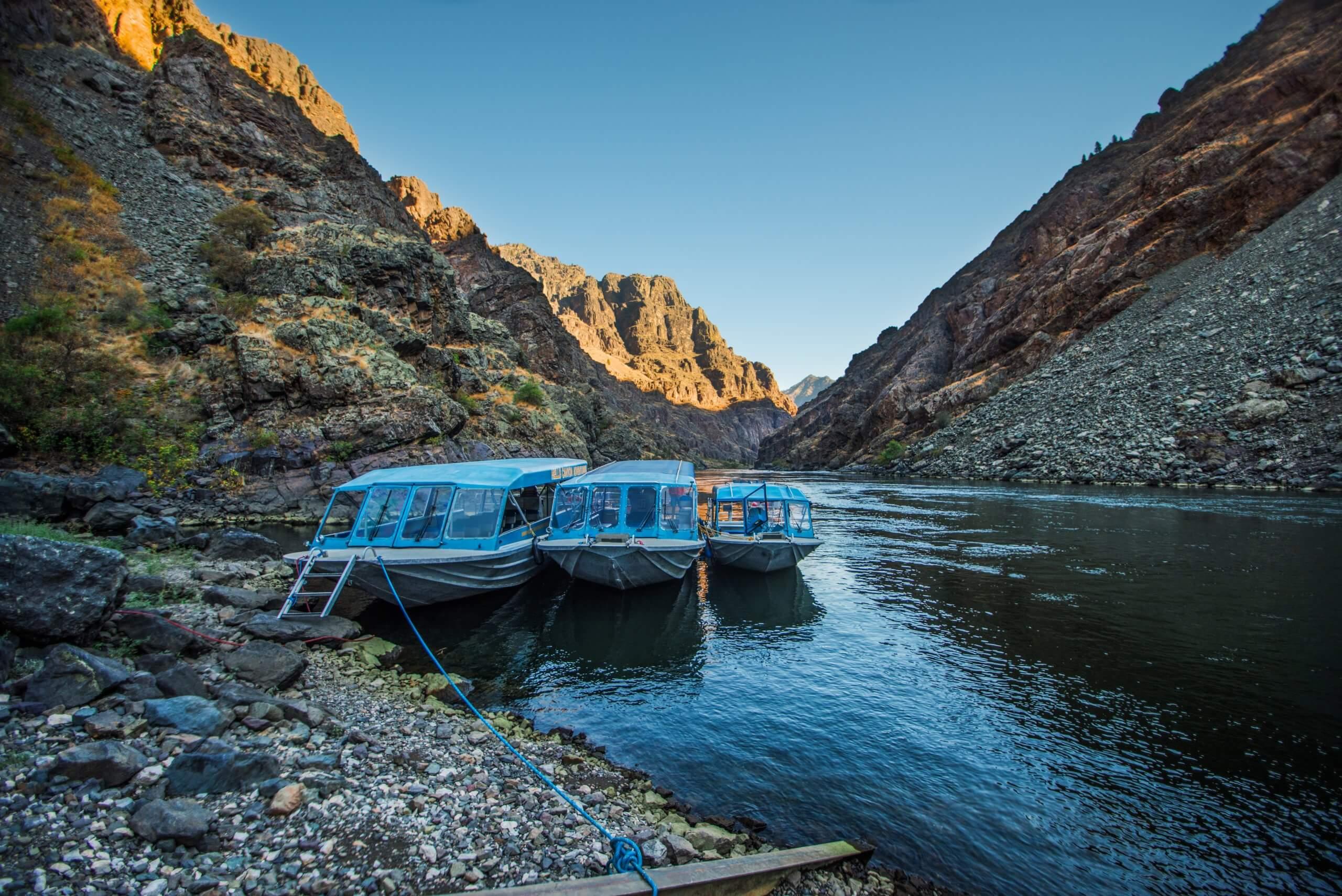 Hells Canyon Riverboat Trip.