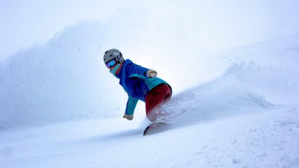 Snowboarding, Magic Mountain. Photo Credit: Ski Idaho