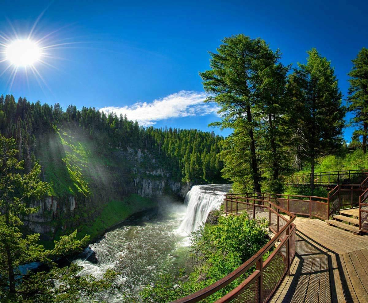 mesa falls idaho map Chasing 5 Of Idaho S Most Spectacular Waterfalls Visit Idaho mesa falls idaho map
