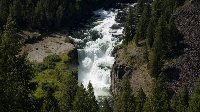 mesa falls idaho map Mesa Falls Scenic Byway Visit Idaho mesa falls idaho map
