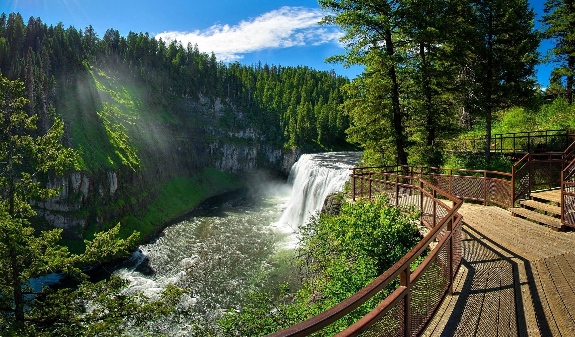 Mesa Falls Visit Idaho
