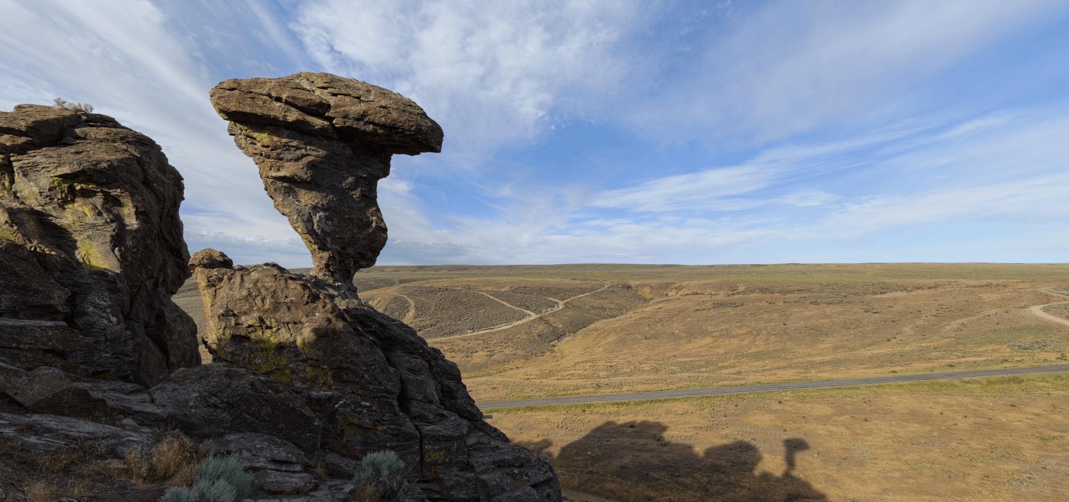 balanced rock balanced rock park visit idaho