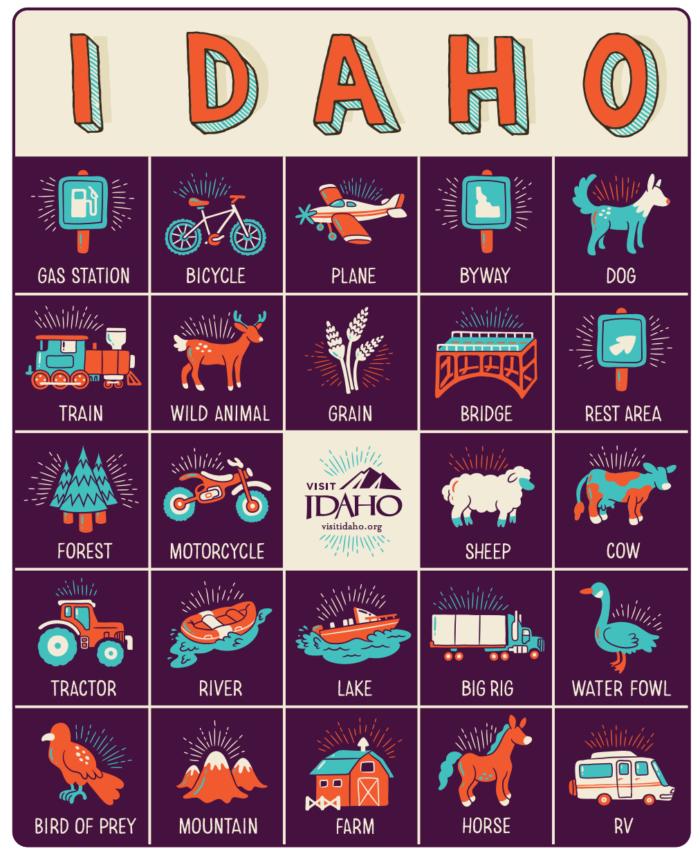 Idaho Bingo.