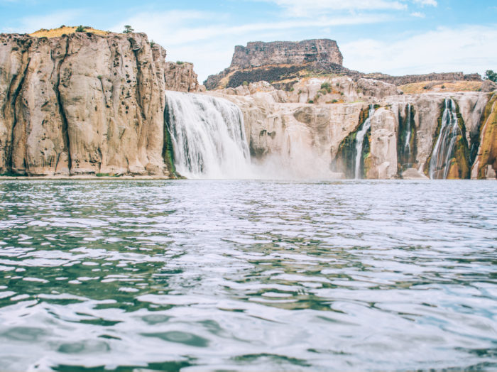 "A view  Shoshone Falls, the ""Niagara of the West."" Photo Credit: Idaho Tourism"