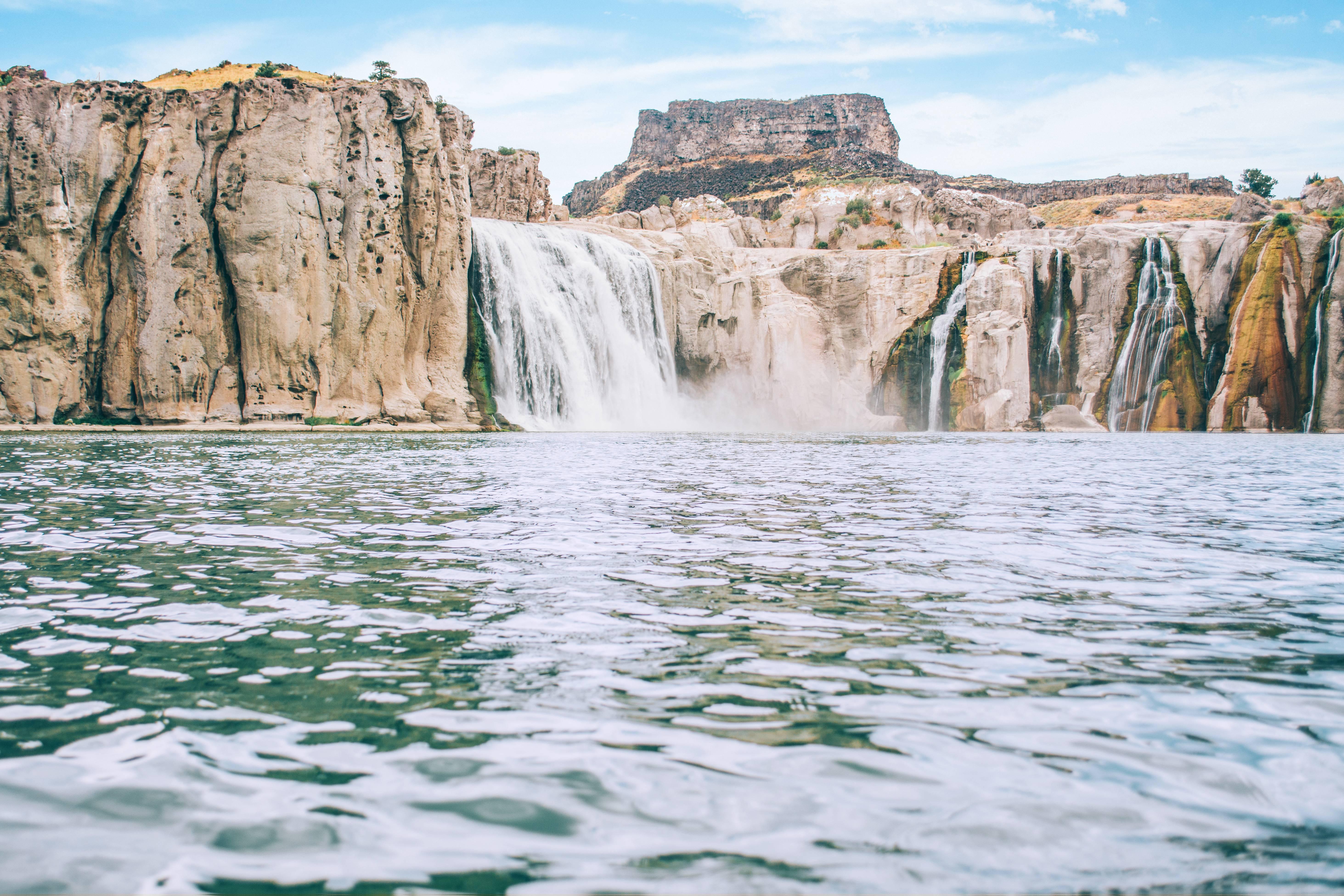 "A view  Shoshone Falls, the ""Niagara of the West."" Photo Credit: Idaho Tourism"