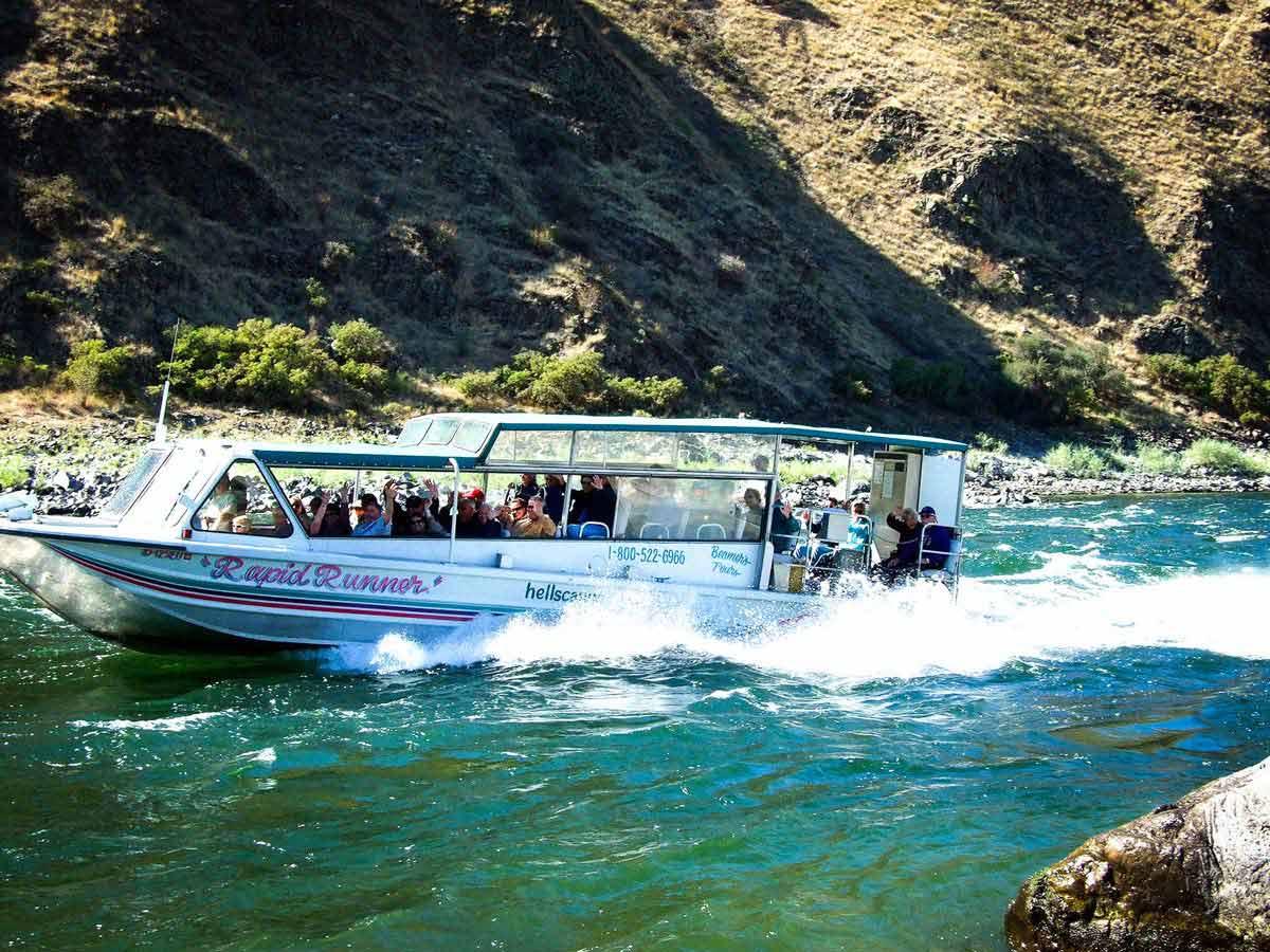 Jet Boating In Idaho S Remote Hells Canyon Visit Idaho