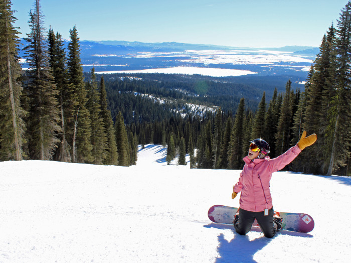 Brundage Mountain Resort.  Photo Credit: Ski Idaho