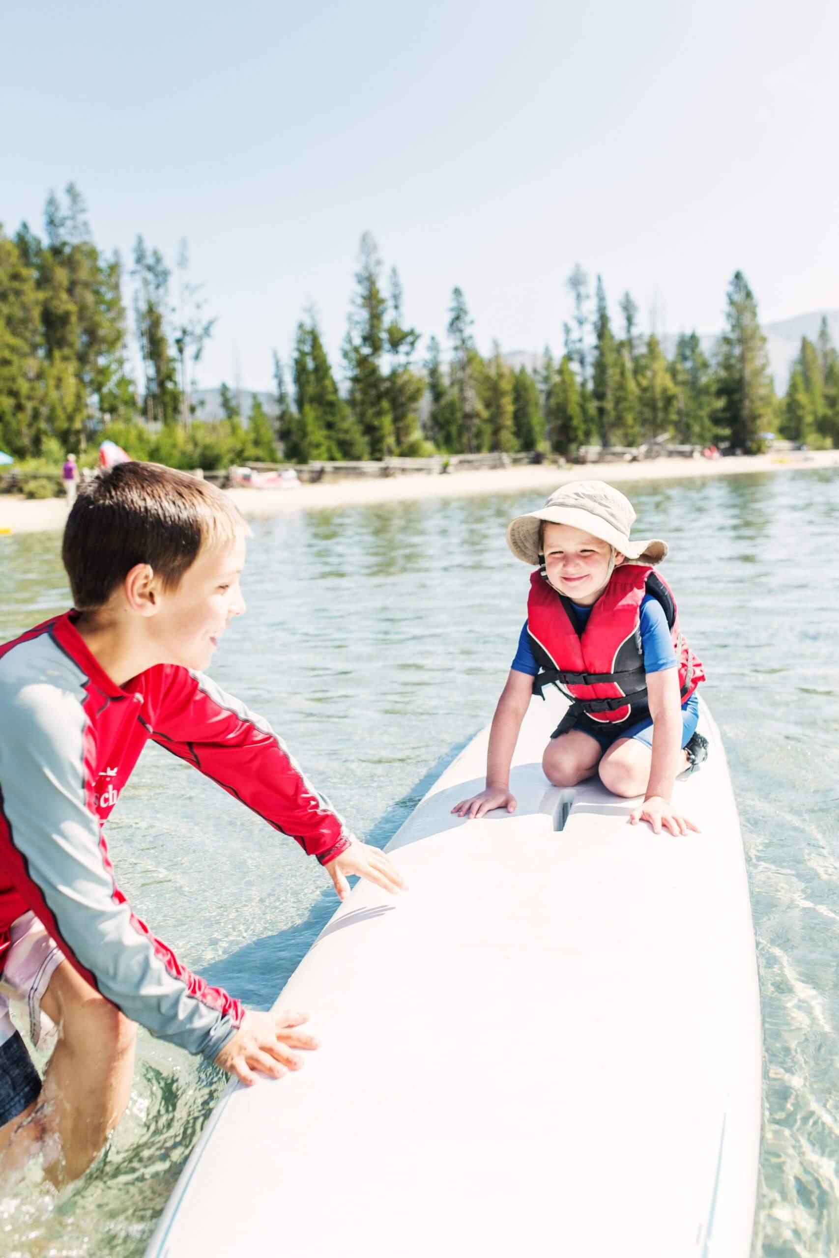 SUPing on Redfish Lake