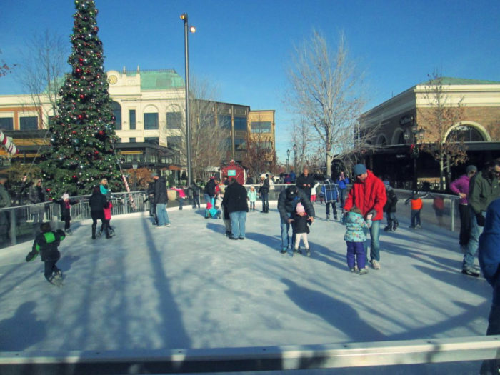 Ice Skating at The Village in Meridian