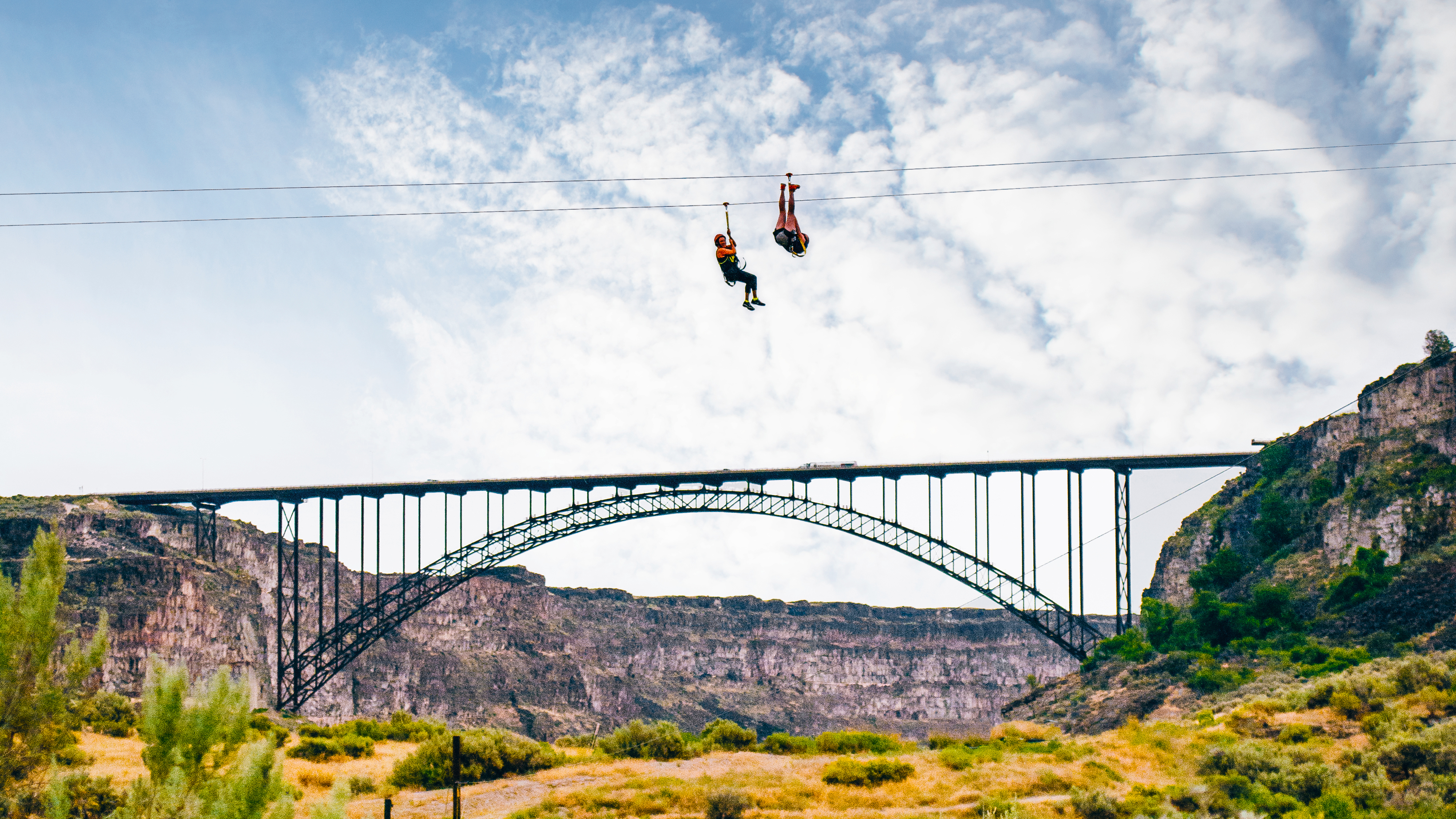 Zip Line Harness >> Zip the Snake | Visit Idaho