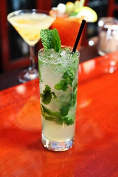 Refreshing summer cocktail.