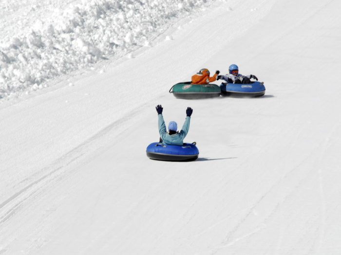Bring the family to the Pepsi Goldrush Tubing Hill.  Photo credit: Bogus Basin Mountain Recreation Area.