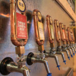 Tap line at Boise Brewing.