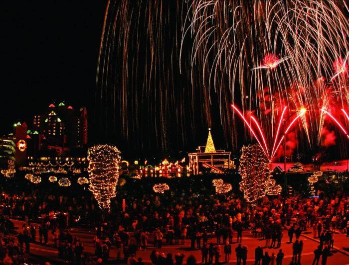 Coeur d'Alene Holiday Lights