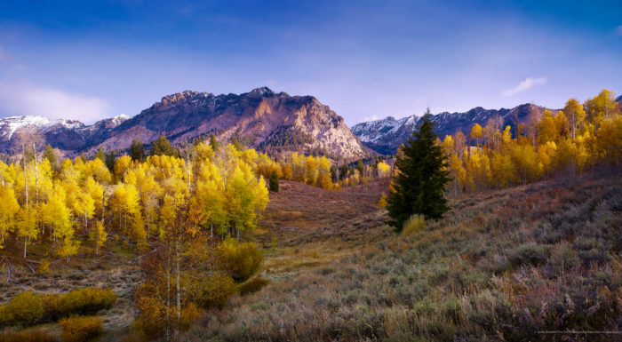 Sun Valley in the fall