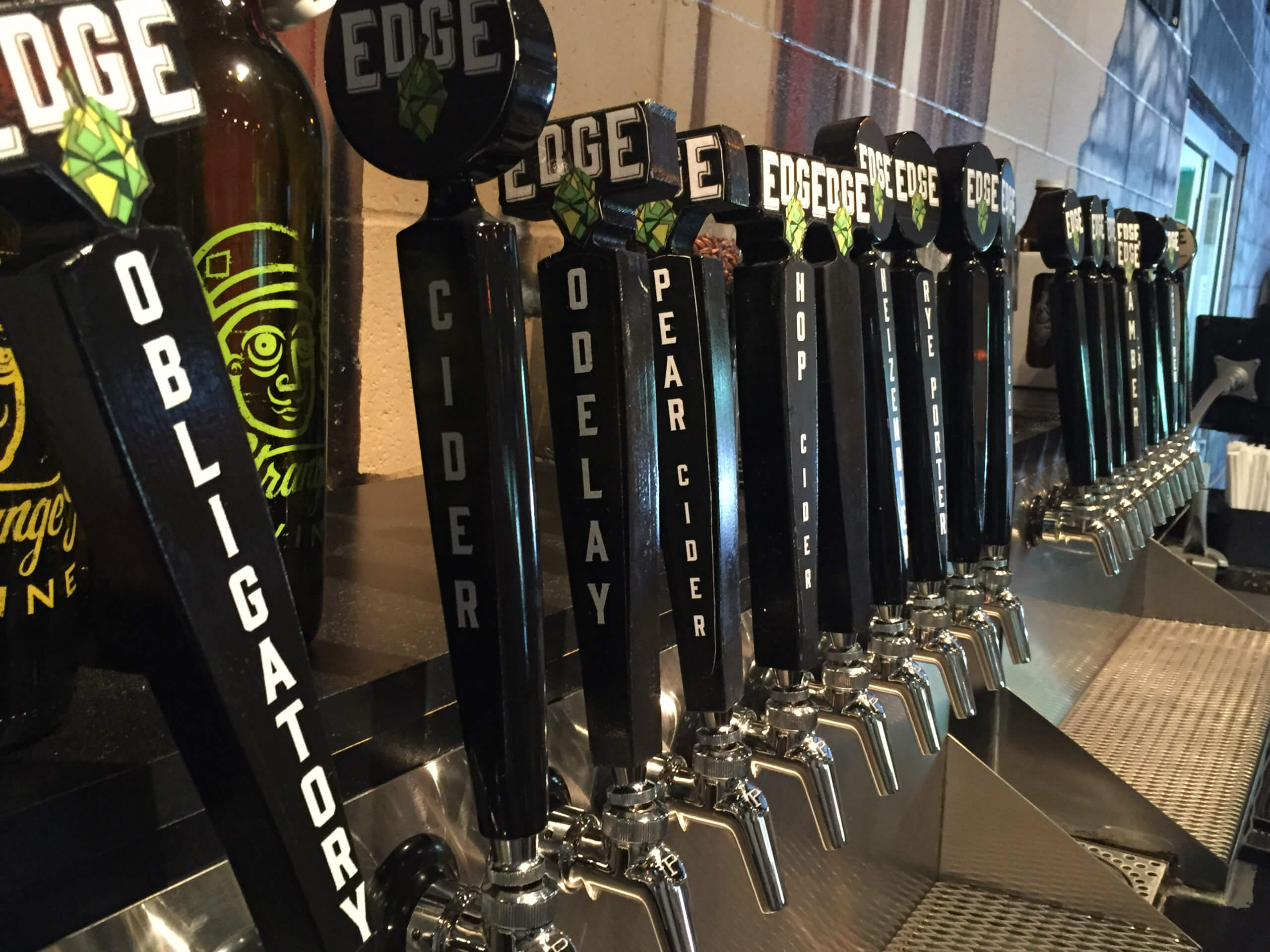 Tap Line from Edge Brewing.