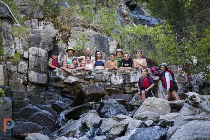 ROCKY MTN. RIVER TOURS. MAIN SALMON KIDS TRIP.