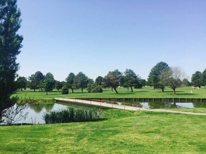 Purple Sage Golf Course.
