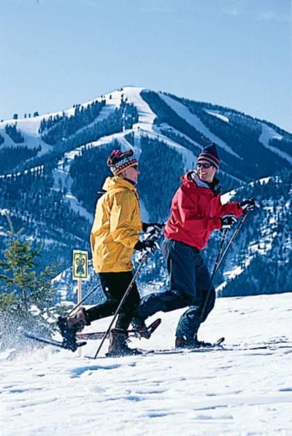 Snowshoeing in Sun Valley