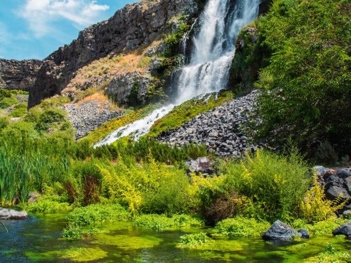 Thousand Springs, Near Twin Falls. Photo Credit: Idaho Tourism