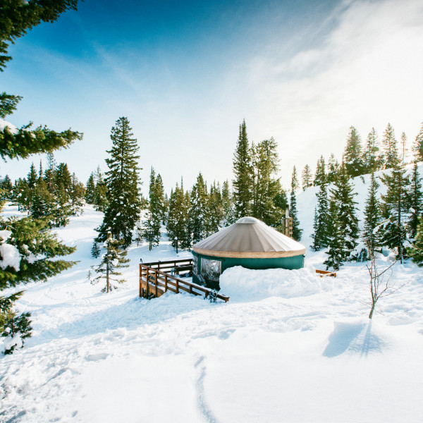 Glamping in Yurts: An Idaho Backcountry Experience