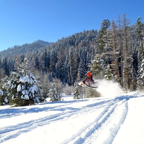 Exercise Your Throttle Thumb: Snowmobile in Idaho's Backcountry
