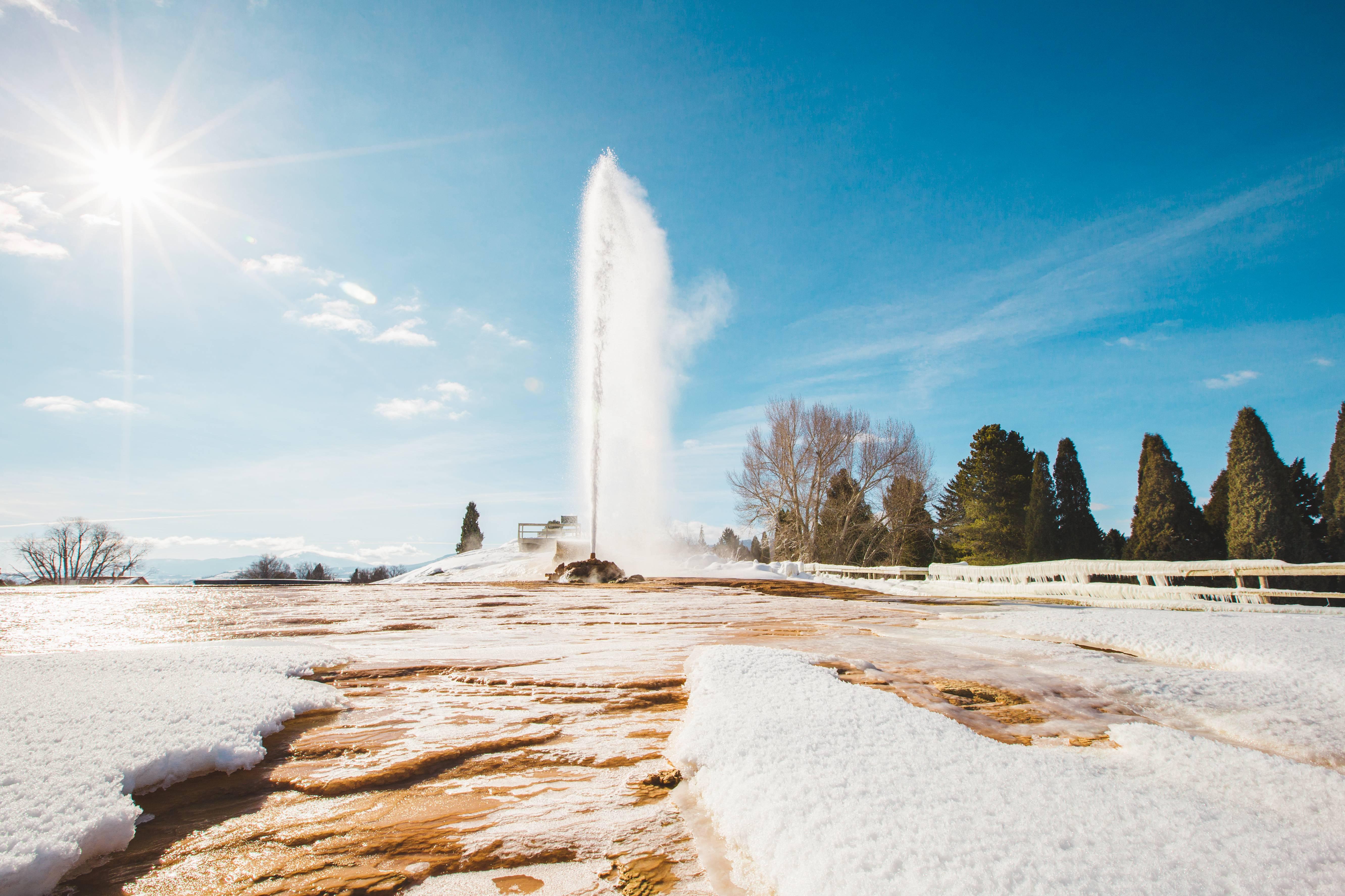 Geyser, Soda Springs. Photo Credit: Idaho Tourism