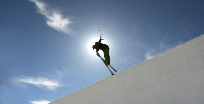 Skiing at Tamarack
