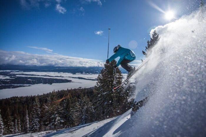 Hitting the slopes at Tamarack. Photo courtesy of Tamarack Resort.