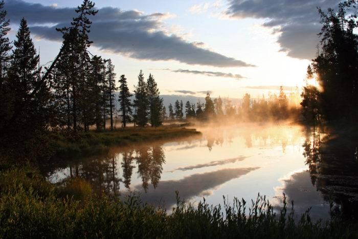 Sunrise, Harriman State Park