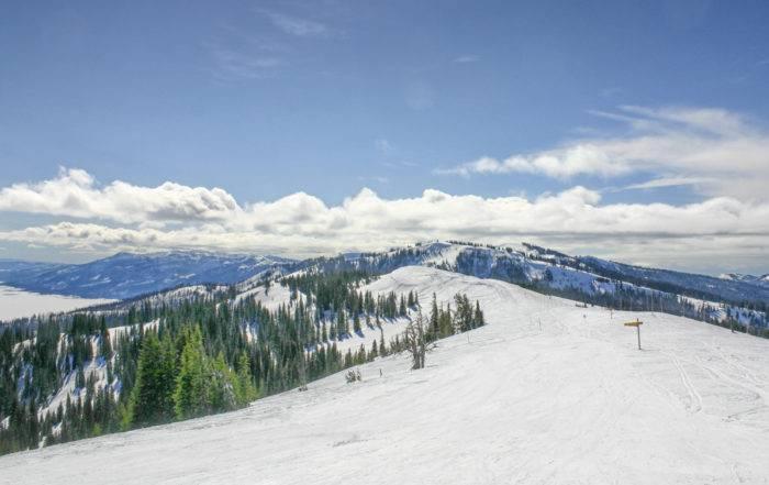 On the slopes at Tamarack.