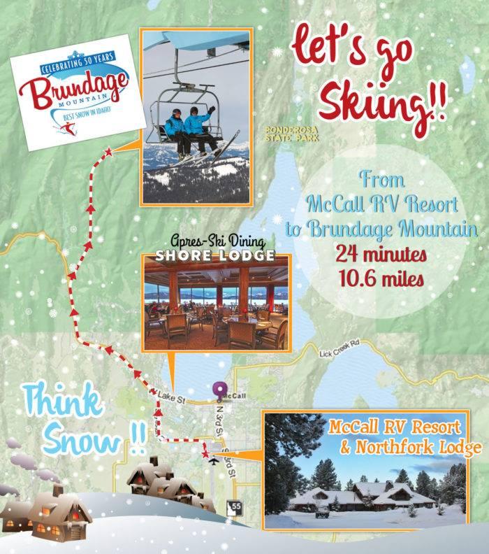 Ski graphic for Brundage Mountain.