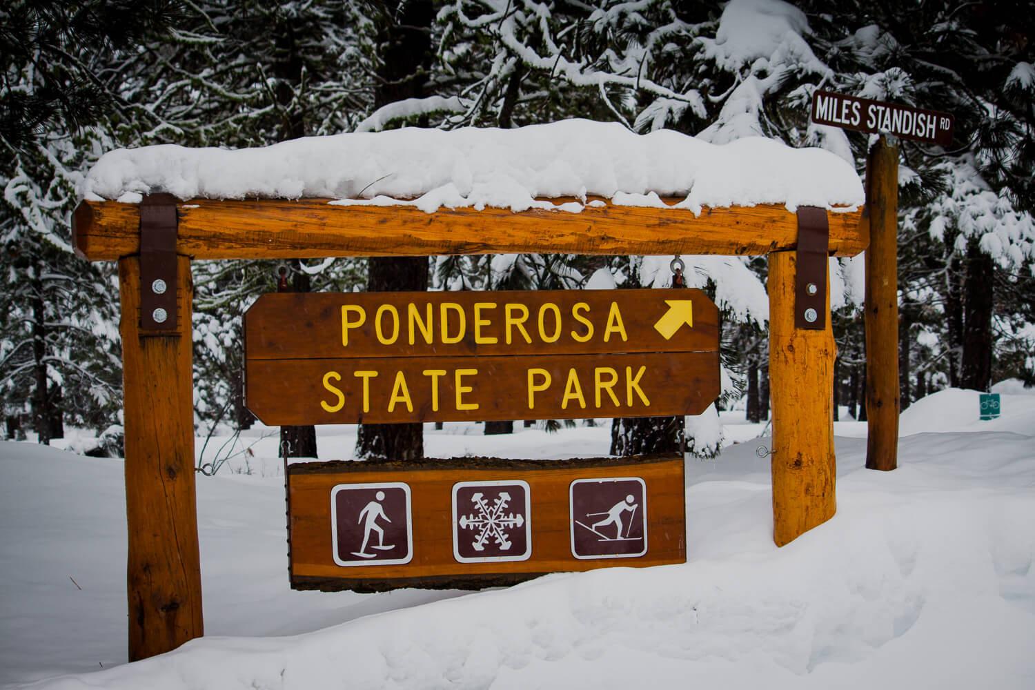 Ponderosa State Park. Photo Credit: Idaho Tourism.