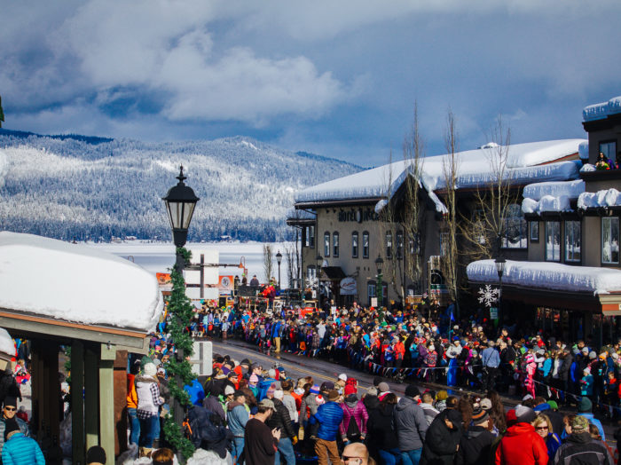 The McCall Winter Carnival Mardi Gras Parade. Photo Credit: Idaho Tourism