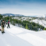 Snowshoeing, Idaho City. Photo Credit: Idaho Tourism