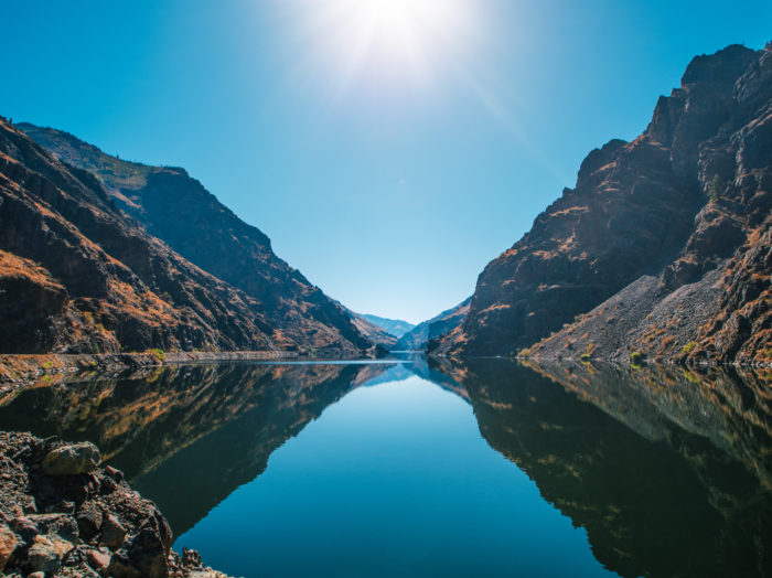 A scenic view of Hells Canyon.  Photo Credit; Idaho Tourism.