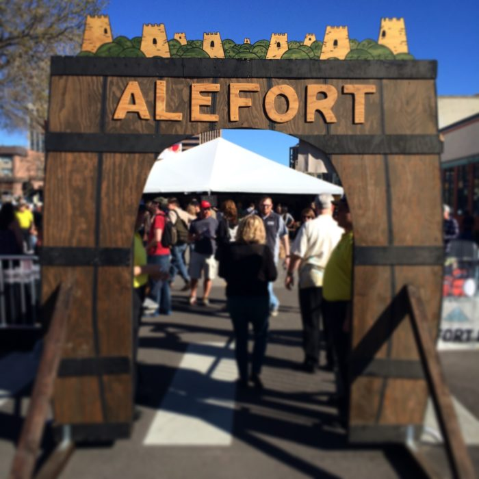 The entryway to Alefort