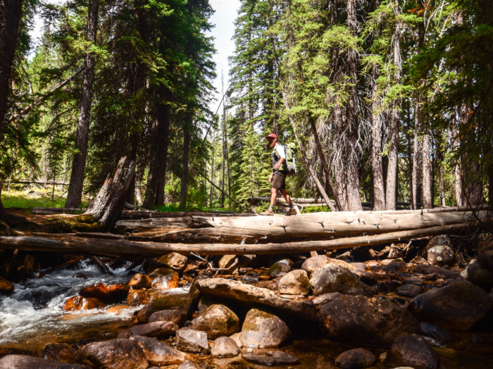 Exploring the Sawtooth Wilderness near Redfish Lake. Photo Credit: Idaho Tourism