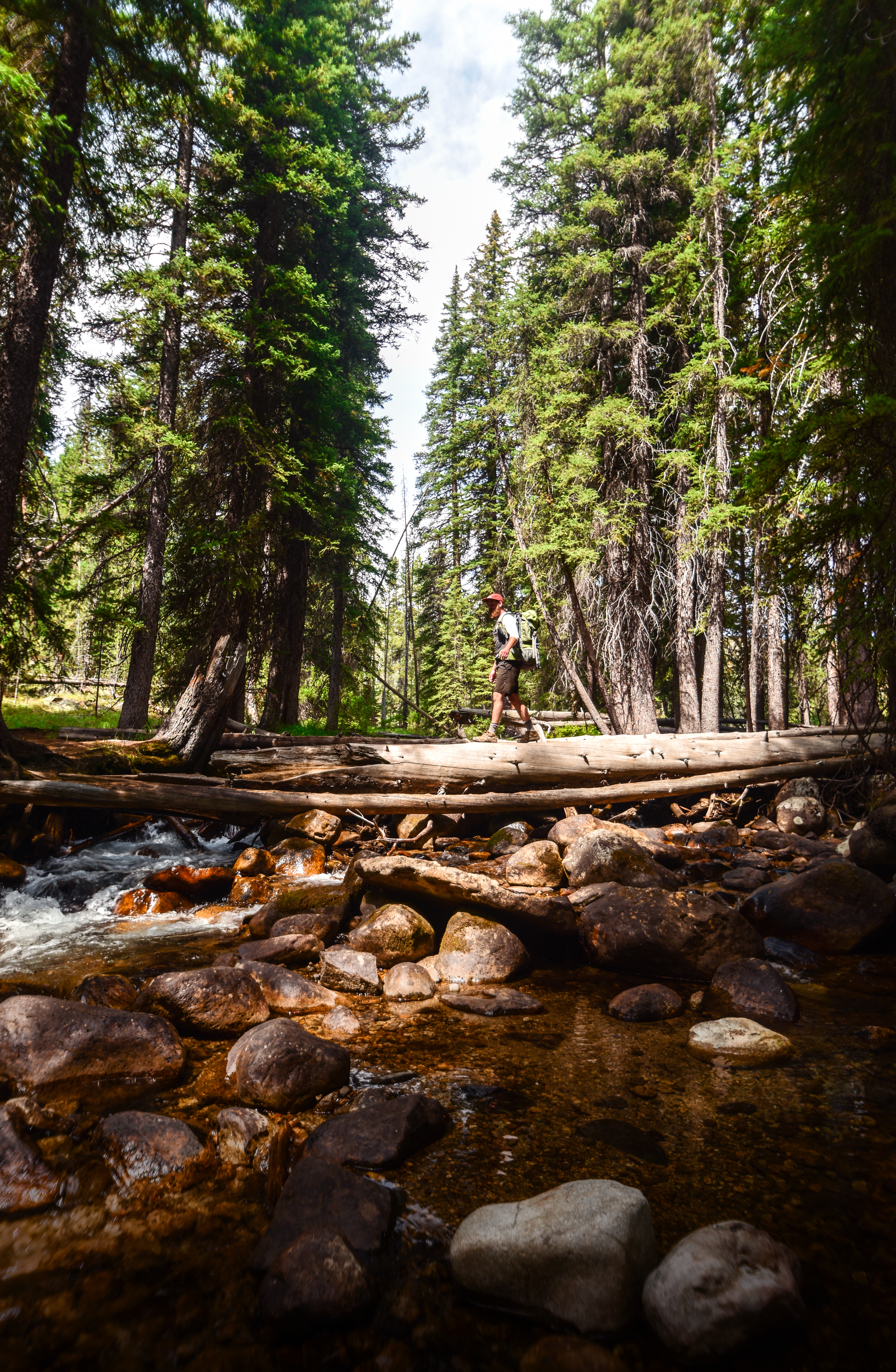 Exploring the Sawtooth Wilderness near Redfish Lake. Photo Credit: Idaho Tourism