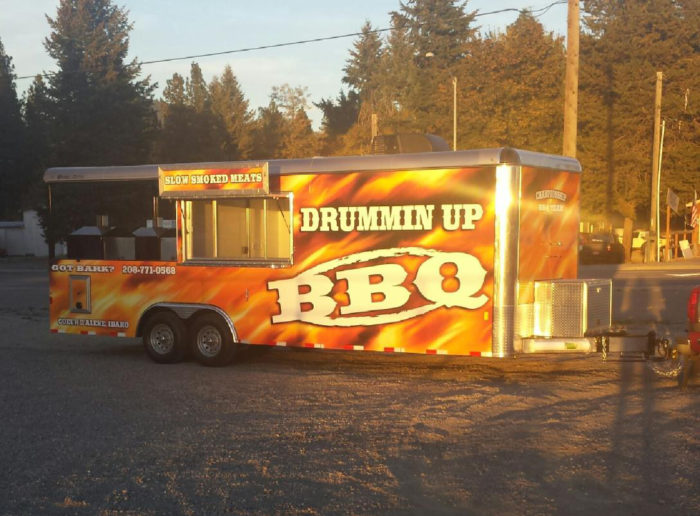 A picture of Drummin' Up BBQ in Coeur d'Alene.