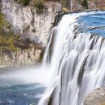 Upper Mesa Falls, Ashton. Photo Credit: Idaho Tourism.